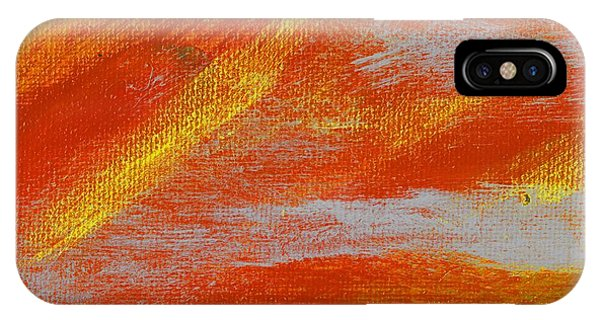 Exuberant Yellow Orange Phone Case by L J Smith