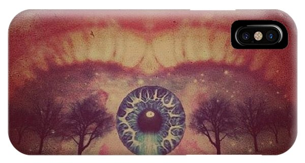Edit iPhone Case - eye #dropicomobile #filtermania by Tatyanna Spears