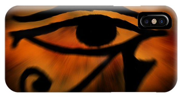 Eye Of Horus Eye Of Ra IPhone Case