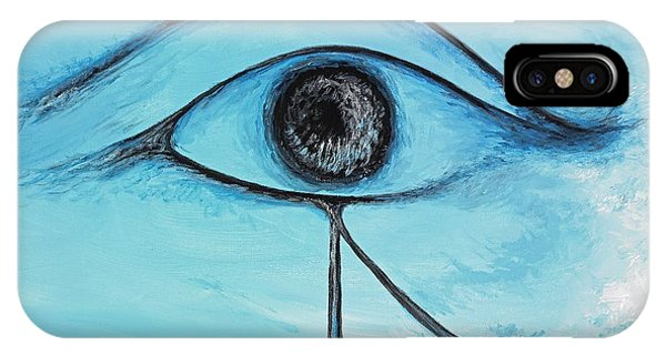 Eye Of Horus In The Sky IPhone Case