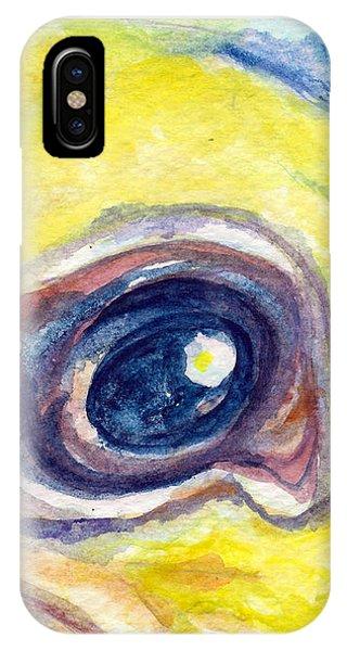Eye Of Pelican IPhone Case