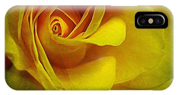 Eye Of Rose IPhone Case