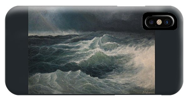 Eye Of Storm IPhone Case