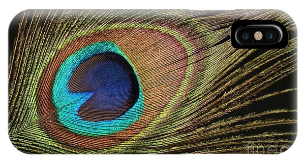 Eye Of The Peacock #5 IPhone Case