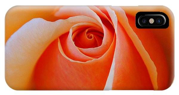 Eye Of The Rose IPhone Case