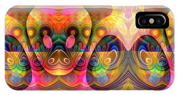 IPhone Case featuring the digital art Eye Of The Snake by Visual Artist Frank Bonilla