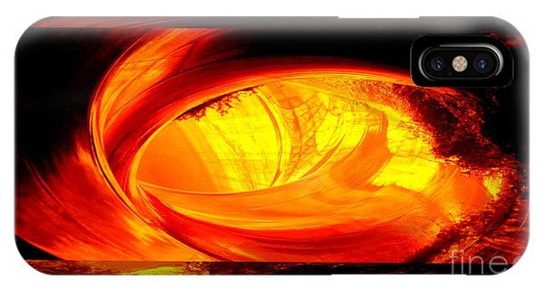 Eye Of The Tube IPhone Case