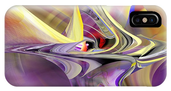 Eye Watcher - Abstract Art IPhone Case