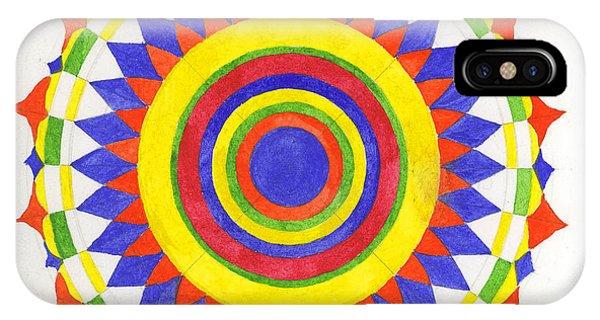 Eye World Mandala Phone Case by Silvia Justo Fernandez