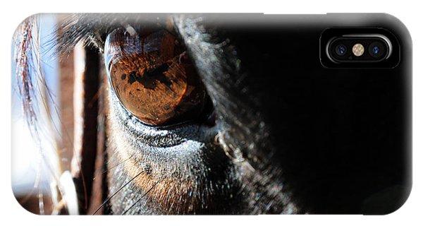 Eyeball Reflection IPhone Case