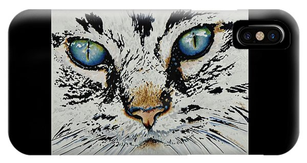 Donation iPhone Case - Eyes For You by Joy Bradley