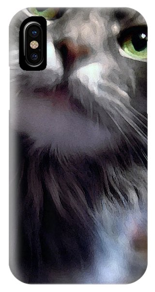 Eyes Nose Mouth Whiskers IPhone Case
