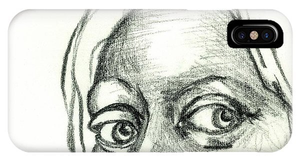 Eyes - The Sketchbook Series IPhone Case