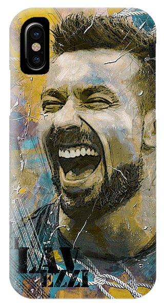 Borussia Dortmund iPhone Case - Ezequiel Lavezzi by Corporate Art Task Force