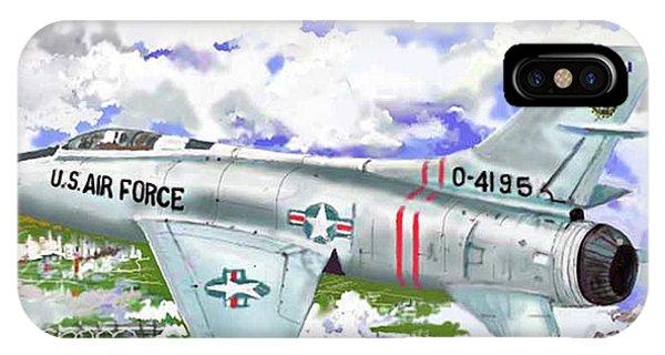 F-100 D Super Sabre IPhone Case
