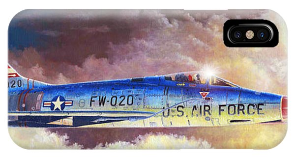 F-100d Super Sabre IPhone Case