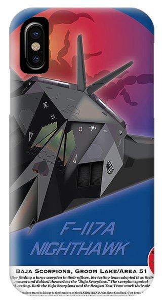 F-117 Nighthawk Baja Scorpions IPhone Case
