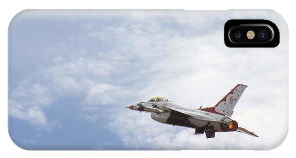 F-16 Thunder IPhone Case