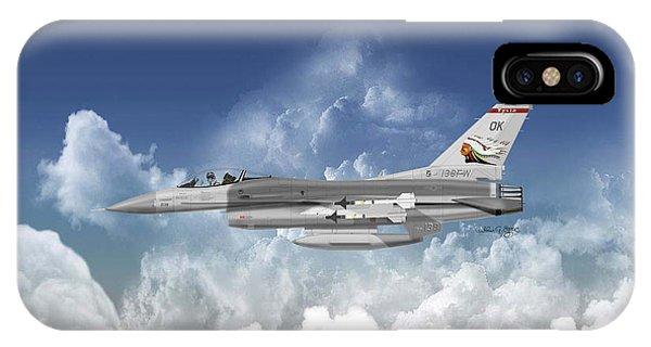 F-16c Falcon Phone Case by Arthur Eggers