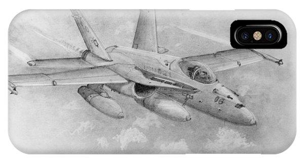 F-18 Super Hornet IPhone Case