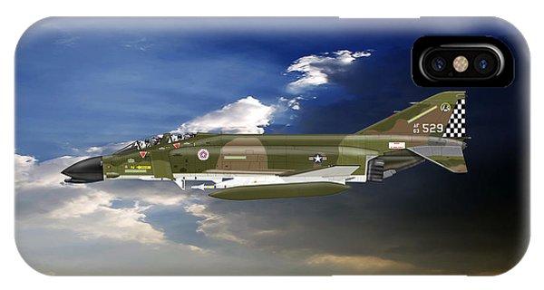 F-4c Phantom Phone Case by Arthur Eggers