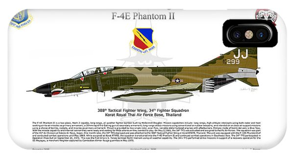 F-4e Phantom II IPhone Case