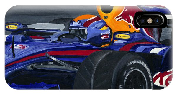 F1 Rbr At The Brazilian Grand Prix IPhone Case