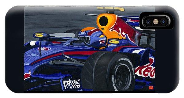 F1 Rbr At The Brazilian Grand Prix IPhone Case