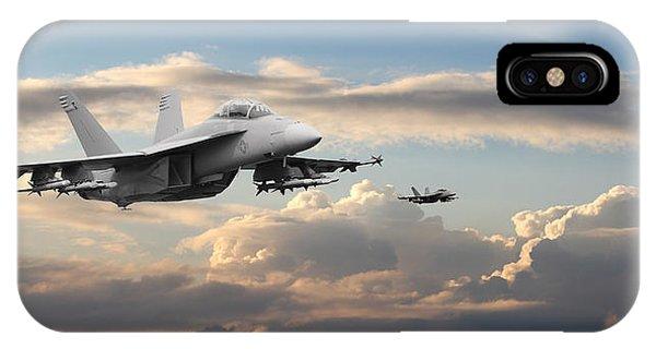 F18 - Super Hornet IPhone Case