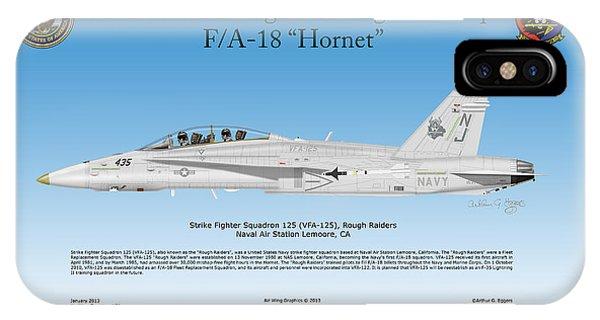 Fa-18 Hornet Phone Case by Arthur Eggers
