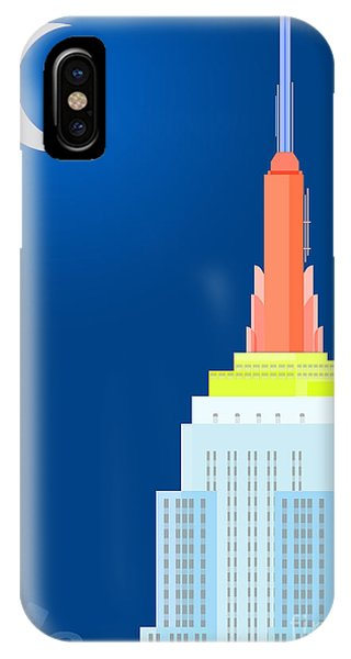 Empire State Building iPhone Case - Fables And Fairy Tales by Nishanth Gopinathan