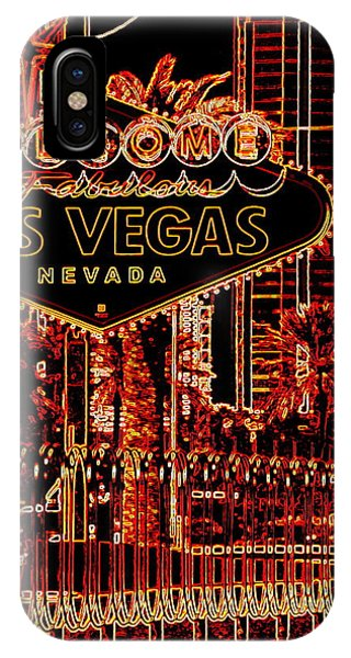 Fabulous Las Vegas IPhone Case