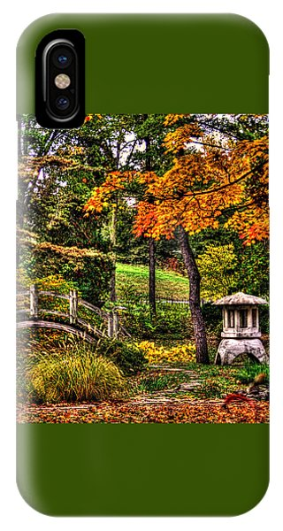 Fabyan Japanese Gardens I IPhone Case
