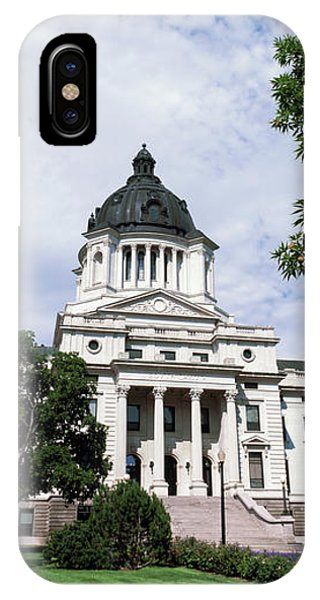 Capitol Building iPhone Case - Facade Of A Government Building, South by Panoramic Images