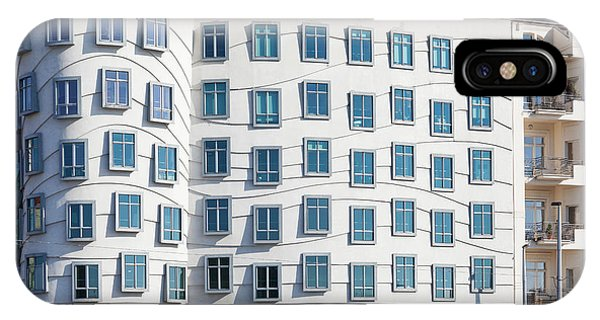 Gehry iPhone Case - Facade Of Dancing House Or Ginger by Panoramic Images
