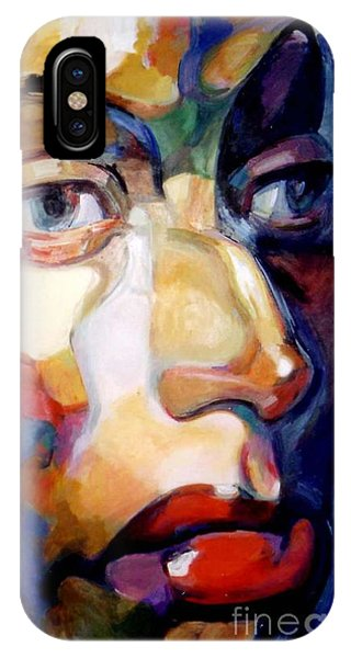 Face Of A Woman IPhone Case