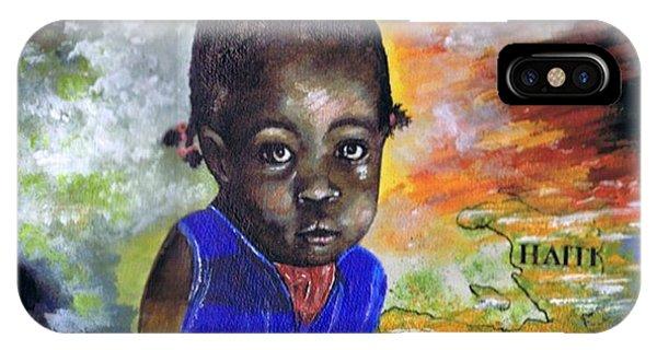 Face Of Haiti IPhone Case