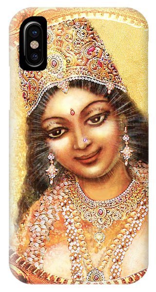 Face Of The Goddess - Lalitha Devi  IPhone Case