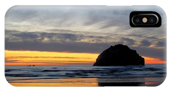 Face Rock Streaks IPhone Case