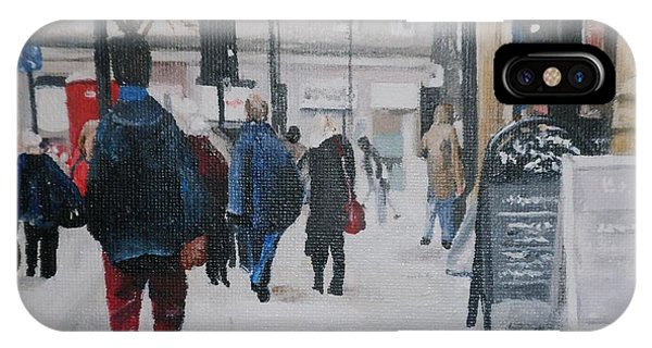 Faceless Crowd IPhone Case