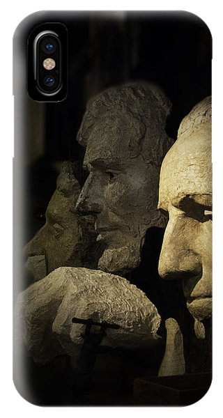 IPhone Case featuring the photograph Faces Of Rushmore by Judy Hall-Folde