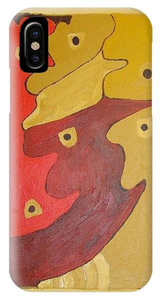 Faces Phone Case by Olivia  M Dickerson