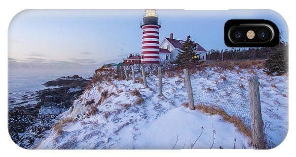 New England Coast iPhone Case - Facing East  by Evelina Kremsdorf