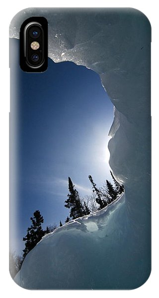 Facing The Wind IPhone Case