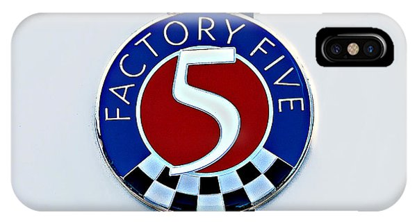 Factory Five IPhone Case