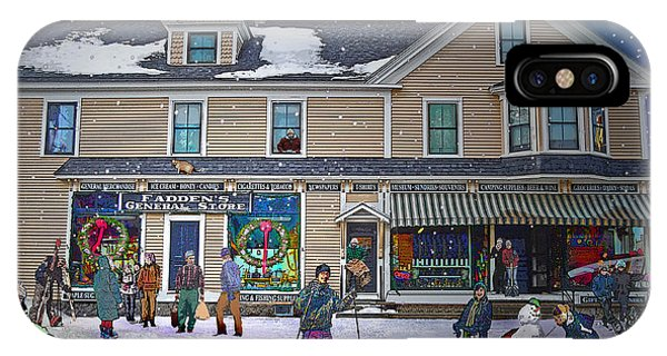 Faddens General Store In North Woodstock Nh IPhone Case