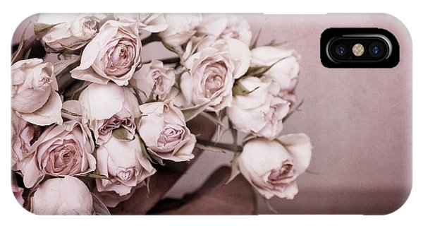 Floral iPhone Case - Fade Away by Priska Wettstein