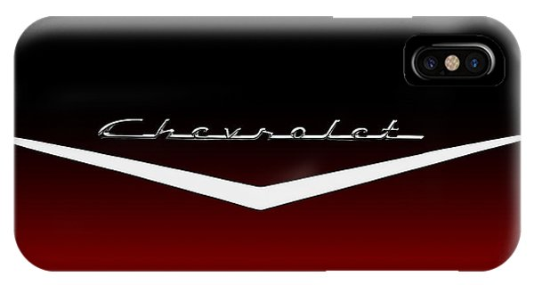 Chevrolet iPhone Case - Fade To Black by Douglas Pittman