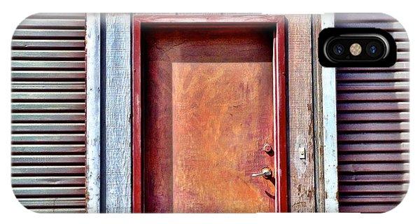 Urban iPhone Case - Faded Door by Julie Gebhardt