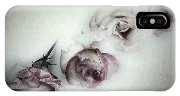 Deep Thought iPhone Case - Fading Feelings by Marianna Mills